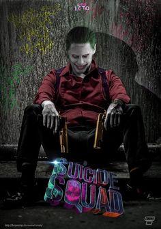 The Joker Suicide Squad Escuadrón Suicida DC Comics Batman Villains Batman Joker Batman, Joker Y Harley Quinn, Joker Art, Harely Quinn And Joker, Joker Clown, Superman Art, Joker Images, Joker Pics, Foto Joker