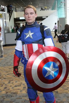 Captain America, The First Avenger, photo by FirstPerson.