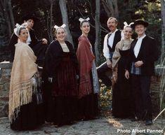 Costumes du Léon - iiiiik les châles sont splendides !