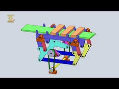 Seven Linkages For Transport Mechanism 2 - YouTube