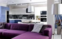 Nice 41 Awesome Purple Furniture Design Ideas For Your Home. More at https://decoratrend.com/2018/03/09/41-awesome-purple-furniture-design-ideas-for-your-home/