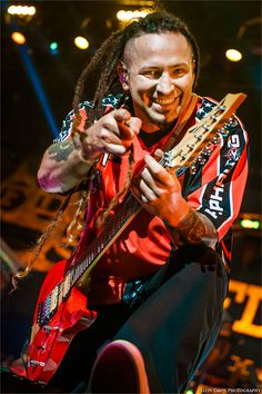 Zoltan Bathory, Five Finger Death Punch 2014 | ROCK: Front/Center | Lizzy Davis Concert Photography