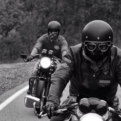 and Photo by We're looking forward to riding with you all! Style Cafe Racer, Cafe Style, Biker Style, Vintage Cycles, Vintage Bikes, Vintage Motorcycles, Motorcycle Types, Cafe Racer Motorcycle, Motorcycle Fashion