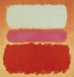 """blanco nube sobre púrpura"", óleo de Mark Rothko (Marcus Rothkowitz) (1903-1970, Latvi"