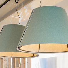 The BuzziShade lamp provides lit surroundings in which to conduct your conversation and the acoustic insulation prevents eavesdroppers from hearing in