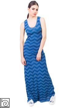 327e4ce6c3e Платье трикотажное длинное брендовое темно-голубое длинная. Barbara Alvisi.  Италия.