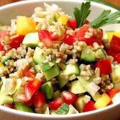 quinoa tabouleh-style side dish