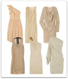 dress for neutral palette