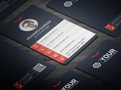 Creative Corporate Business Card   Business Cards   The Design Inspiration