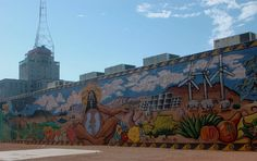 Mural by Averian Chee, Angel Diaz, Xochitl Enriquez, Jeff Slim, Kim Smith, and members of the Cyphers Center for Urban Art ~ Phoenix, AZ