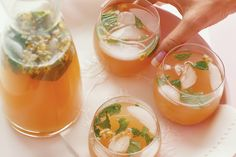 Try this thirst quenching icy-cold drink, perfect for a summer BBQ or party around the pool.