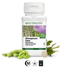 Hot flash and night sweat relief. Supplement that supports overall well being and hot flash relief during menopause, plus antioxidant protection. Nutrilite, Losing Belly Fat Diet, Hormone Replacement Therapy, Night Sweats, Hot Flashes, Tablets, Calorie Diet, Natural Health, The Cure