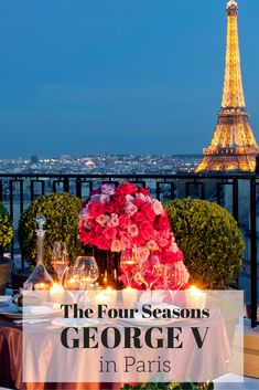 A review of the best luxury hotel in Paris: The George V. With its huge spa and its own Michelin star restaurant there is no better place to stay in Paris