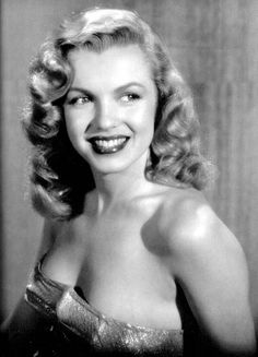 Norma Jean Baker just beginning to be Marilyn Monroe.