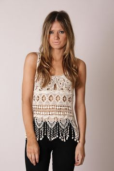 Lace-y top at a fun new site. Blues dancing maybe?!?