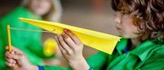 Maak een katapultvliegtuig