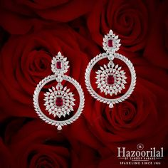 Radiant as a Rose , jewellery crafted to perfection for the infinite love of your life. #HazoorilalCelebrates #HazoorilalBySandeepNarang #Rubies #Diamonds #FineJewelry #Hazoorilal