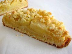 Zelf appel kruimel taart maken, het recept, apple crumble - Xead.nl