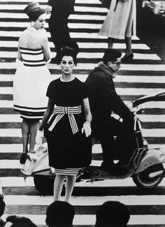 Vogue Rome 1960 photograph by William Klein