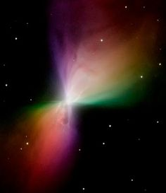 Image of the Boomerang Nebula By Hubble Space Telescope