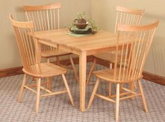 Dundee Shaker style table & chairs.