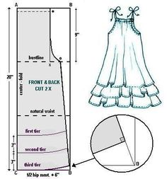 ✂ Dress pattern.... this is a great basic pattern