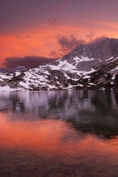 Ruby Lake Sunset...