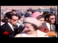 Difunden video inedito de JFK antes de morir