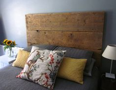 Reclaimed Barn Wood Headboard - Handcrafted - https://www.etsy.com/listing/267446143/reclaimed-barn-wood-headboard?ref=shop_home_active_6