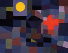 Can't wait to see The Paul Klee exhibition at Tate Modern Paul Klee Fire at Full Moon 1933 Kandinsky, Modern Art, Contemporary Art, Paul Klee Art, Art Ancien, Social Art, Art Plastique, Color Theory, Full Moon