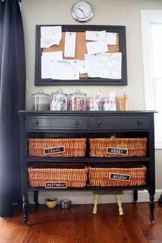 Cute homework station