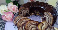 Babka na białkach, kolorowa babka Waffles, Pancakes, Pie Cake, Polish Recipes, Homemade Cakes, No Bake Desserts, Deserts, Muffin, Sweets