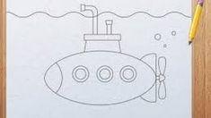 Bildresultat för scetch u boat