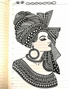 40 Beautiful Mandala Drawing Ideas & How To - Brighter Craft Doodle Art Drawing, Dark Art Drawings, Girly Drawings, Mandala Drawing, Pencil Art Drawings, Art Drawings Sketches, Watercolor Mandala, Watercolor Artists, Drawing Ideas