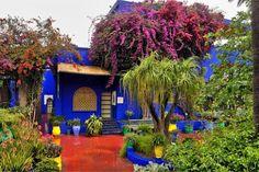 Jardin Majorelle Marakech , Maroc