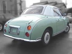someday soon, someone will hit it big realizing that if they brought the #nissan #figaro back and offered it stateside, it would sell like hotcakes....