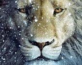 Narnia Lion Cross Stitch Pattern PDF