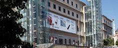 Музеи Мадрида - Музей современного искусства Королевы Софии Museo Nacional Cento de Arte REINA SOFIA Мадрид Испания
