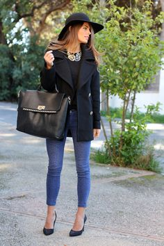 chic black touches