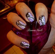 Nail art - Mon premièr One Stroke   Repro Tartofraises