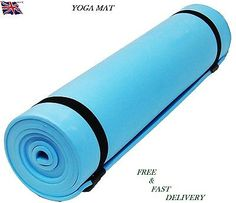 Yoga #exercise #fitness workout mat physio pilates #festivals camping gym non sli,  View more on the LINK: 	http://www.zeppy.io/product/gb/2/121800348123/