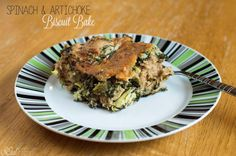 Spinach and Artichoke Biscuit Bake - Vegan Dinner SOulFreshtheblog.com #vegan #spinach #artichoke