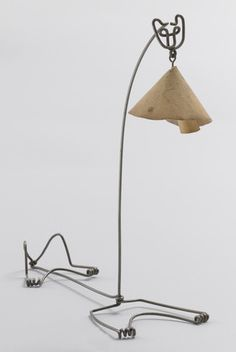 MoMA | The Collection | Alexander Calder. Cat Lamp. 1928