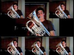 Gabriel's Oboe - A Euphonium Multitrack