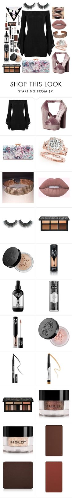 """""""Untitled #63"""" by sarahdoyle448 ❤ liked on Polyvore featuring Chinese Laundry, Ted Baker, Kat Von D and Inglot"""