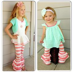 Taylor Joelle Designs leggings. Top on left is from Target, top on right is from gap. ADORABLE!