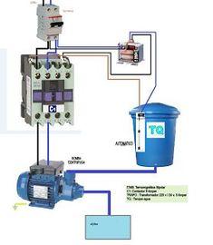 Esquemas eléctricos: motor bomba monofasica con transformador y bobina ...
