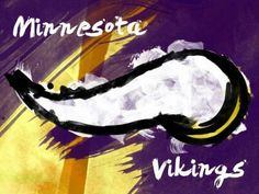 Skol Vikes! Nfl Vikings, Minnesota Vikings Football, Minnesota Wild, Minnesota Tattoo, Football Paintings, Football Canvas, Nfl Football Helmets, Football Crafts, Viking Art