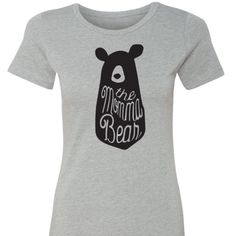 MOMMABEAR Tees You know I HAVE to keep one of these for myself!!! I LOVE my SHAREBEARS these amazing tees are buttery soft, lightweight without yet still very well made!! My new favorites!! Measurements are true to size and fabric is stretchy and non wrinkling. Crew neck doesn't choke either... In LOVEEEE!! SHAREBEARS GET DISCOUNT! Denim, Boots, & Bling  Tops Tees - Short Sleeve