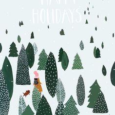 Geïllustreerde kerstkaarten maken deze donkere decemberdagen zoveel leuker. #8daystochristmas  Link in bio ~ Christmascard @pietenkees __________________________ On the blog christmascards & illustration @esthermols @mme_ziba @femke_hesselink @kaartjevankoosje @jamillabeukema @wowgoods __________________________ #illustration #christmasiscoming #kerstkaartencountdown #merrychristmas #christmasillustration #illustration #december #christmascards #seasonsgreetings #kerstkaarten #holidaycard...
